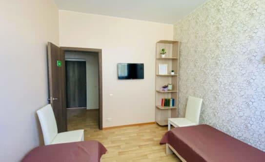 Обстановка комнат в пансионате для пожилых