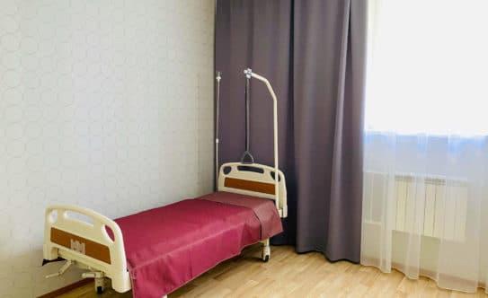 Оборудованная кровать